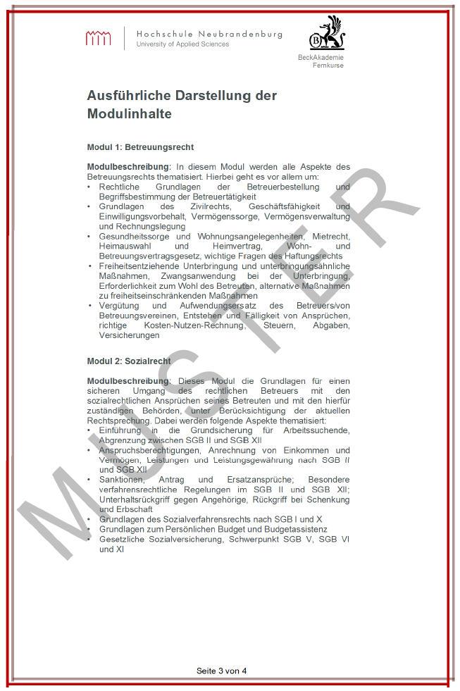 Hochschulzertifikat_Hochschule Neubrandenburg_Pruefungsurkunde_Seite_3