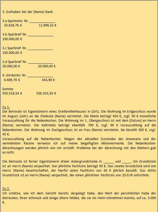 Jährliche Rechnungslegung Der Berufsbetreuer Beckakademie Fernkurse